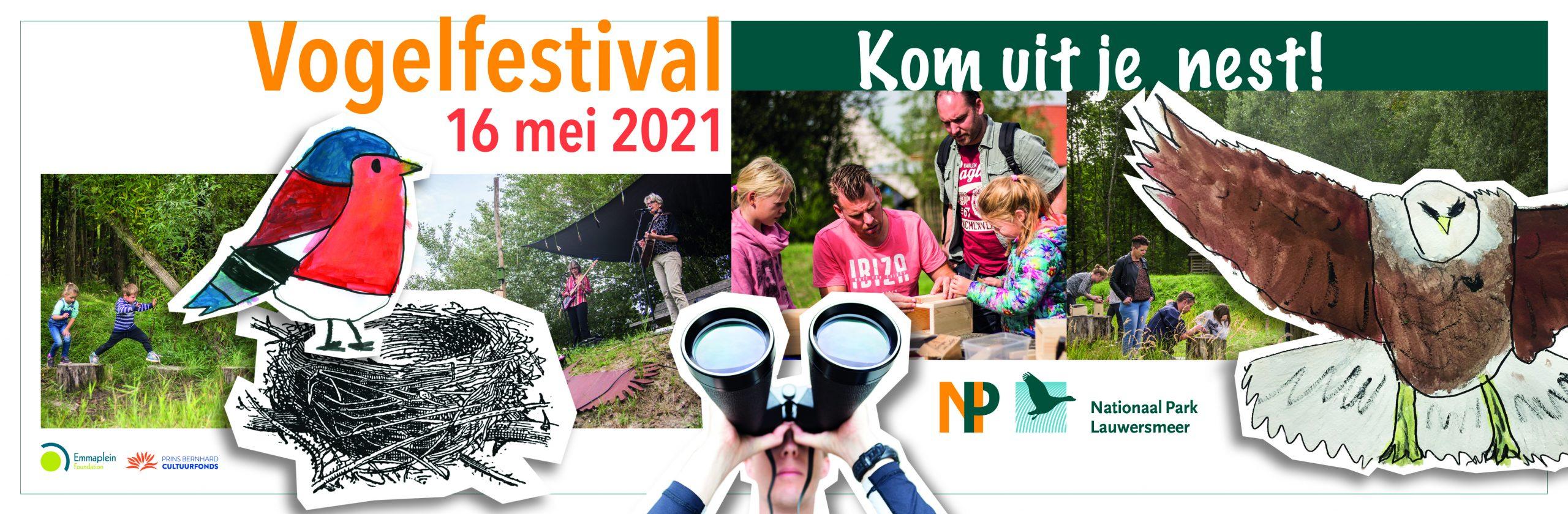 Banner Vogelfestival 2021