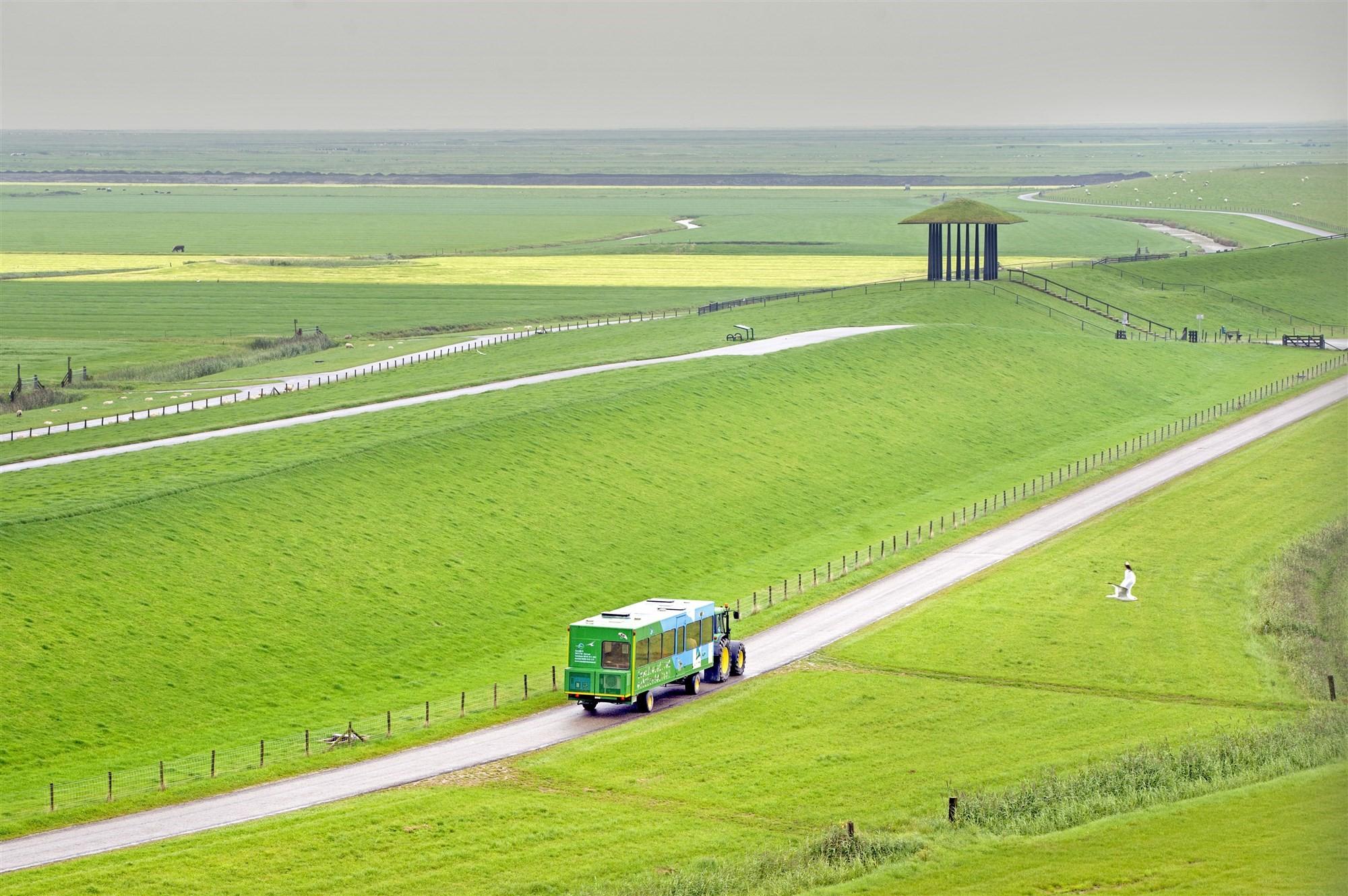 Friese waddendijk fietsvriendelijker